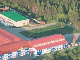 Вид на нашу базу с аэрофотосъемки
