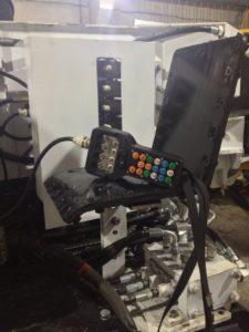 Пульт дистанционного радиоуправления в шахте