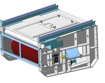 Аппаратура управления шагающим конвейером
