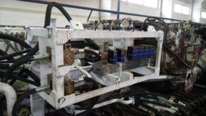 Электрогидравлический блок управления на проходческом комбайне П110