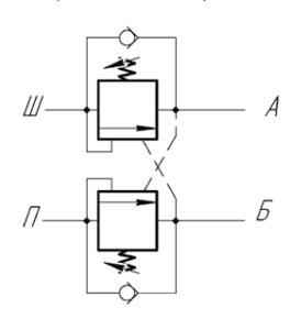 Гидравлическая схема гилрозамка домкрата