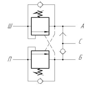 Гидрозамок домкрата схема