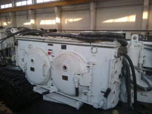Капитальный ремонт проходческого комбайна П110