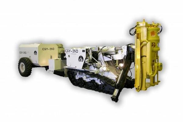 Система управления рудничной Самоходной буровой установкой СБУ-250