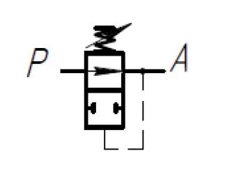 клапан редукционный схема