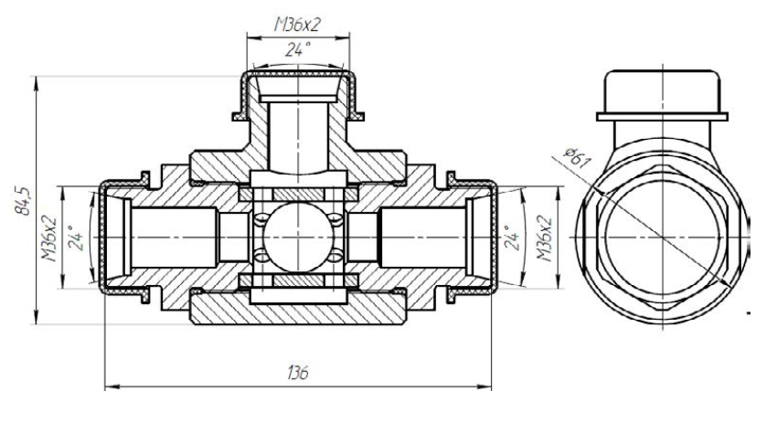 Клапан ИЛИ-01