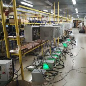 Коммутатор для подземных высокоскоростных систем передачи данных